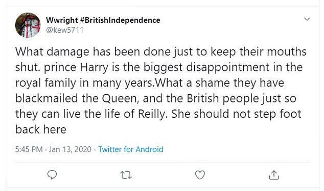"""英媒:哈里王子夫妇""""退出""""王室,与""""脱欧""""历程惊人相似"""