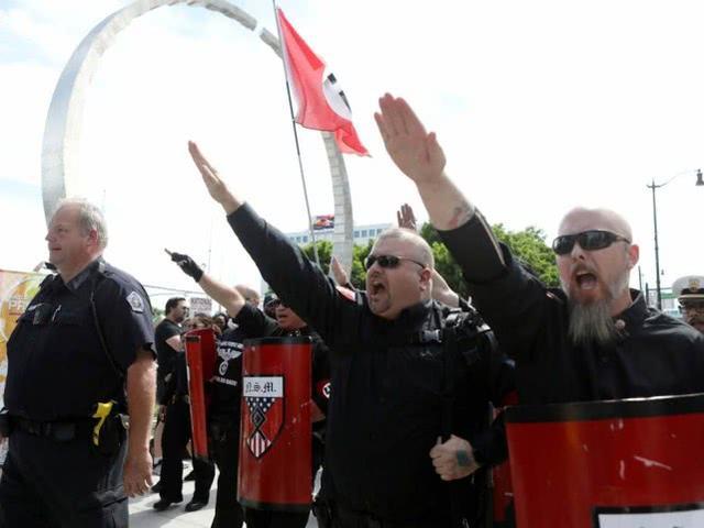 担忧大型持枪集会出现伤亡,美国FBI逮捕新纳粹组织头目