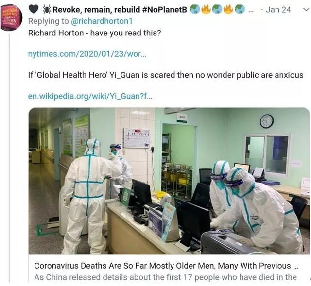 国际权威医学刊物主编对武汉疫情的看法,让人意外