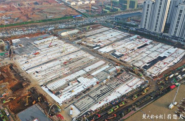 雷神山医院再扩容!新增建筑面积3840平方米