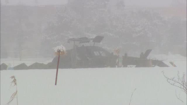 """日本陆自直升机悬停训练时""""翻车"""",从10米高空坠地"""