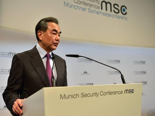 """中国外长的反击""""刷屏""""!这次 美国""""三巨头""""在慕尼黑都有些尴尬"""