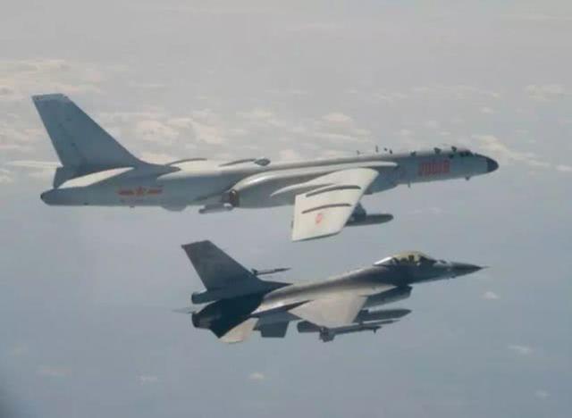 F-16遭解放军歼-11火控雷达锁定?台军否认后又突然改口