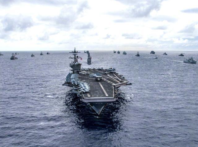 美国这次下狠手,18个国家集结4万大军,360架战机逼近边境