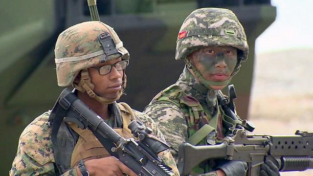 时隔三天后韩国军中又现确诊者,总数增至28例,近万人被隔离