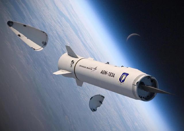 美国高超音速导弹内部构造曝光 滑翔弹头造型奇特