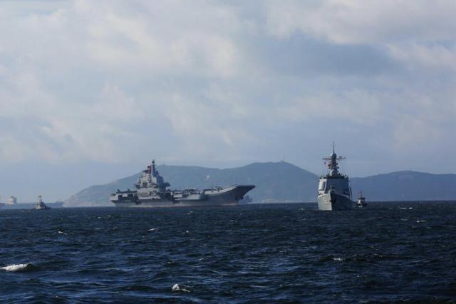 美海军研究所:中国海军15年后将有430艘战舰,规模世界第一