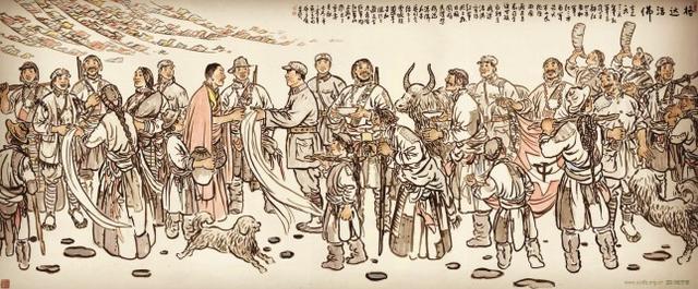 在西藏即将解放之际,这个人突然去世,毒杀阴谋被揭露