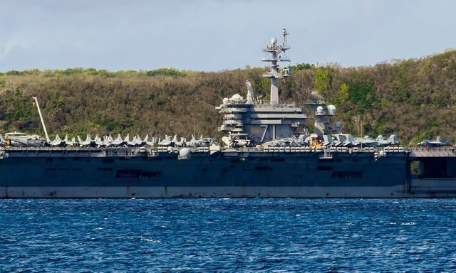 美国航母水兵揭露关岛隔离设施现状,内幕细思极恐!