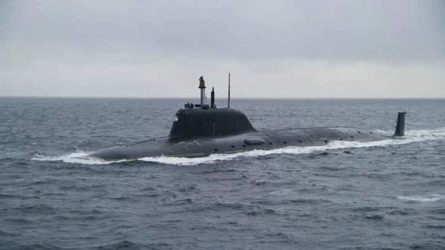 """可控制整个大西洋,专打航母!俄批准部署""""亚森-A""""级核潜艇"""