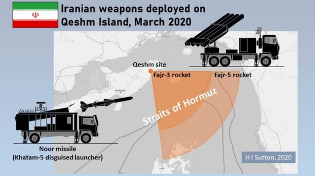 伊朗积极备战@美媒:伊朗积极备战,在霍尔木兹附近部署大型火箭炮和反舰导弹