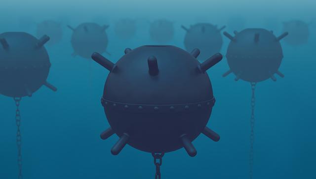[美海军开发新技术]外媒:美海军开发新技术,用机器人来对付中俄伊数量惊人水雷
