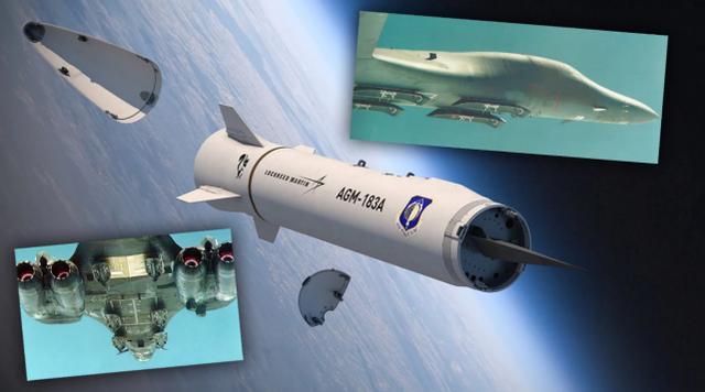 恐怖的载弹量!美军打算要让B-1B带31枚高超音速导弹