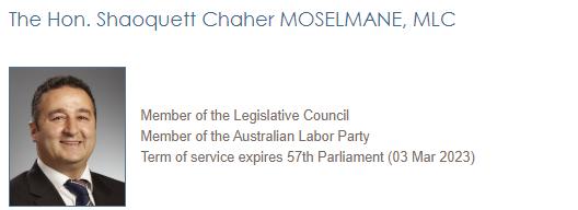 澳大利亚一名称赞中国防疫工作的议员被抄家