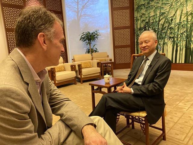 关于疫情,崔天凯与美国记者做了一场尖锐访谈