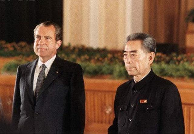 尼克松访华前周恩来亲自为他试车,并在试车时发现了两个小毛病