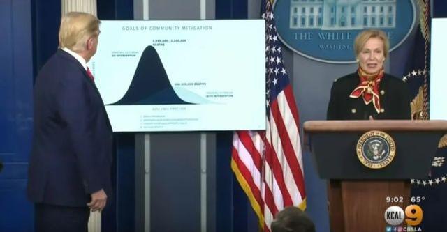 特朗普:我们国家死亡的人可能比世界大战时还多,但我要……
