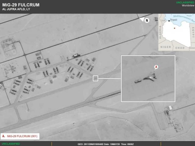 """神秘米格-29现身利比亚,能给""""翼龙""""无人机撑腰了?"""