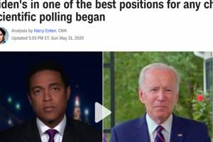特朗普危险了?美国数十个民调显示他全面落后