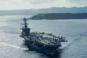 罕见!美国三大航母群集结亚太,几个意思?