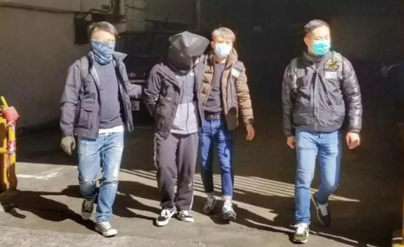 """香港暴徒中最凶残的""""屠龙小队"""",落网!"""