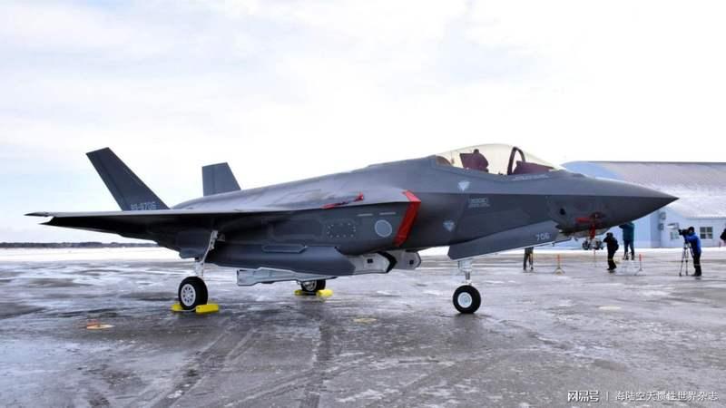 日本国内组装的F35战机大降价 决定仍将继续组装