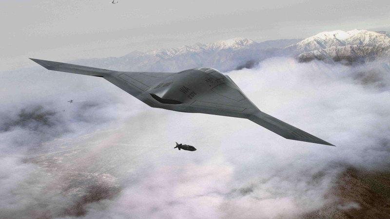 """美高调披露B-21隐形轰炸机细节 强调""""极低可探测性"""""""