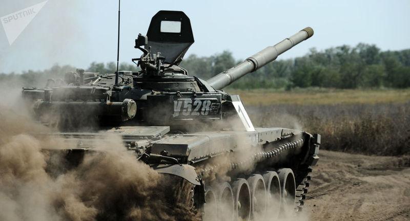 俄罗斯与老挝首次举行军演 老挝出动最强坦克参战