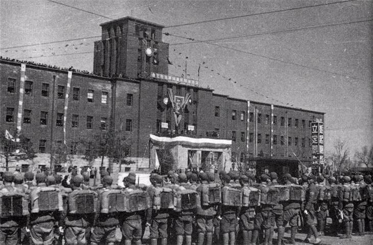 辽沈战役前,反映国军在东北日常的老照片