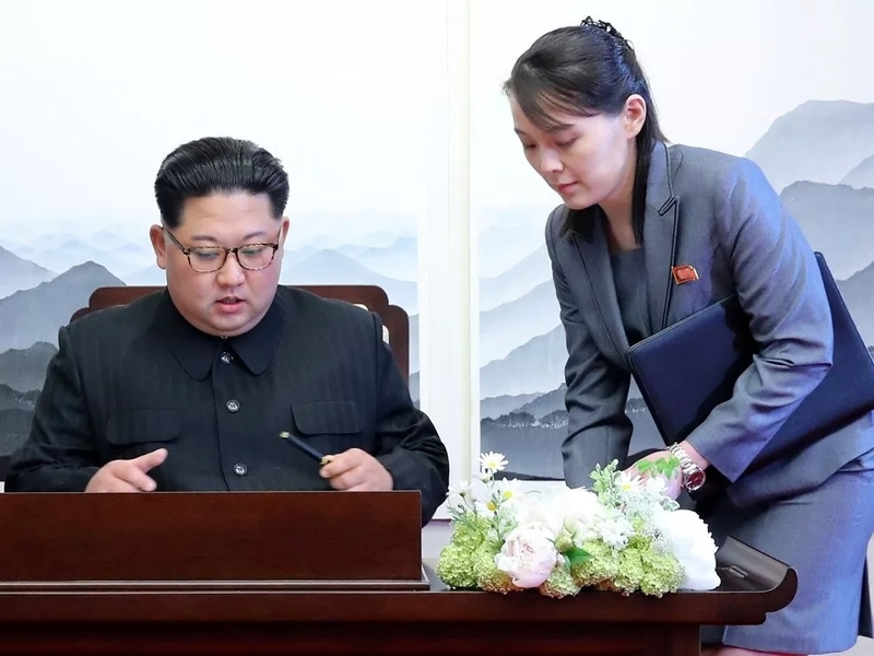 """朝鲜""""第一妹妹""""金与正职位再获晋升,正式步入决策核心圈"""