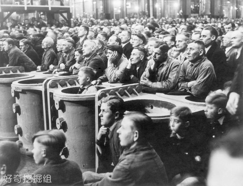 实拍1936年希特勒统治下的德国