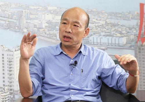 韩国瑜感谢民众支持并称:我将继续在高雄打拼!