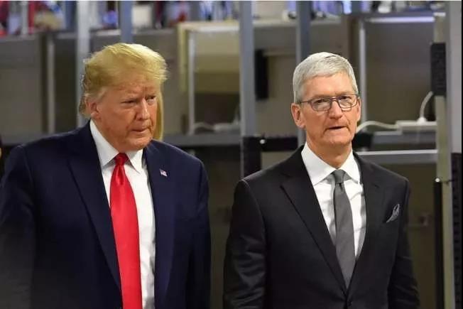 特朗普喊话苹果要和政府合作 又是否听到美企喊话希望与中国合作?