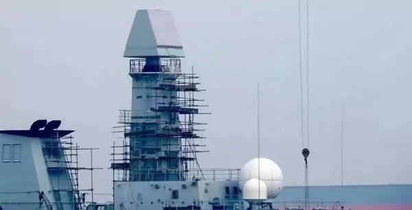 新型舰载相控阵雷达曝光!054A之后,国产新一代护卫舰或呼之欲出?