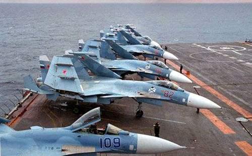 俄媒:俄军将打造世界最大航母,航程没有限制