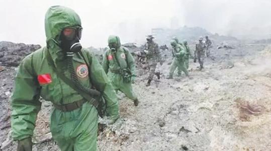 解放军防化部队作战能力:防疫拉的出,作战打得响