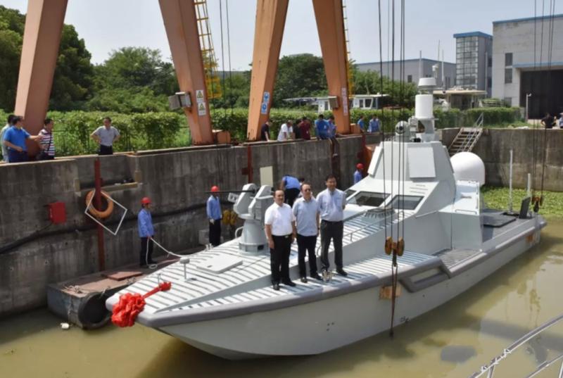 中国新无人战船首航 拥有无比豪华配置 印度人:如卖给巴就完了