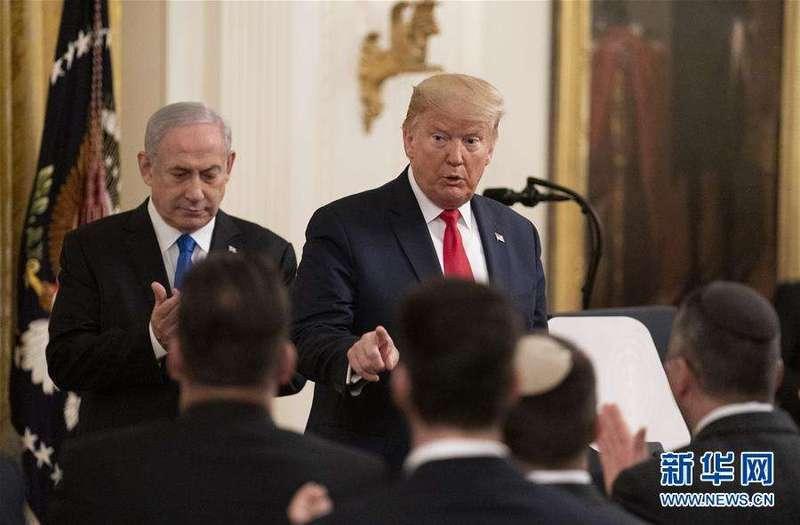 特朗普公开中东和平计划 耶路撒冷竟成了美以手中棋子