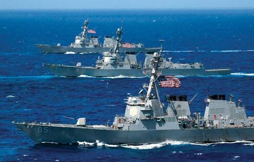 美国海军的实力到底有多强?看看数据就都明白了