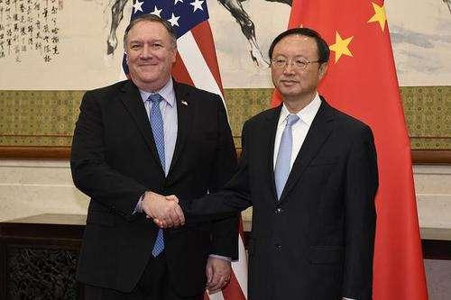 美国务卿和杨洁篪通电话 慰问疫情中受感染的人员