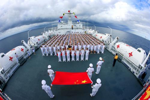 美军来南海耀武扬威 殊不知中国海军早已布下天罗地网