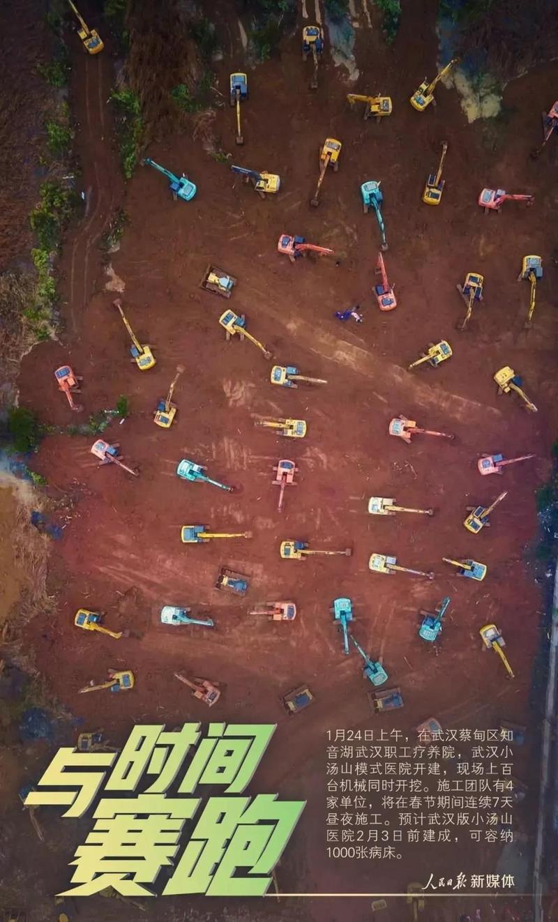 """武汉""""火神山""""10天建成,中国基建狂魔凭什么创造奇迹!?"""