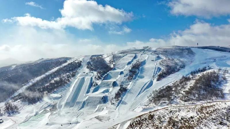 北京冬奥会倒计时两周年,场馆建得怎么样了?操作卫星看一眼