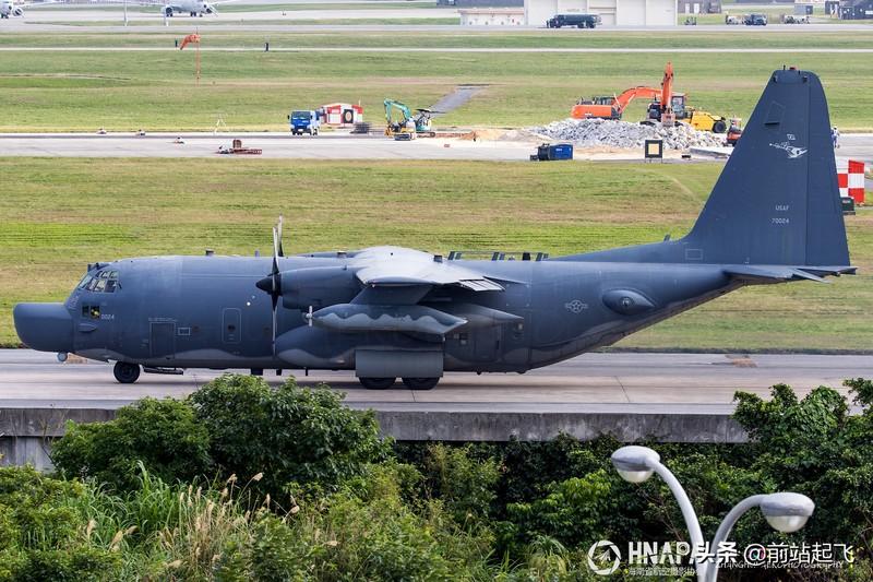 日本冲绳:嘉手纳机场,看看驻日美军都有哪些飞机?