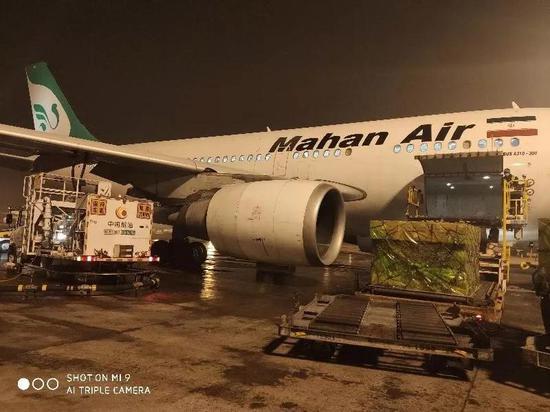 伊朗第二批捐赠口罩抵京!伊朗馆:中国的事就是我们的事