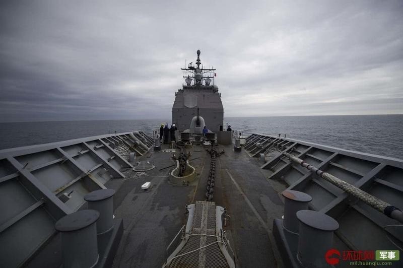 美舰穿越台湾海峡画面曝光 又是这艘劣迹累累的军舰