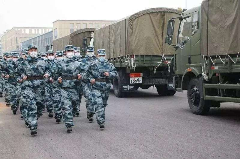 物资源源不断!驻鄂部队建立钢铁运输线,总攻已经开始