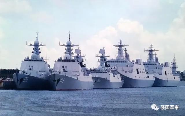 印度扣押中国货轮后,中国海军编队现身孟加拉国,警告意味明显?