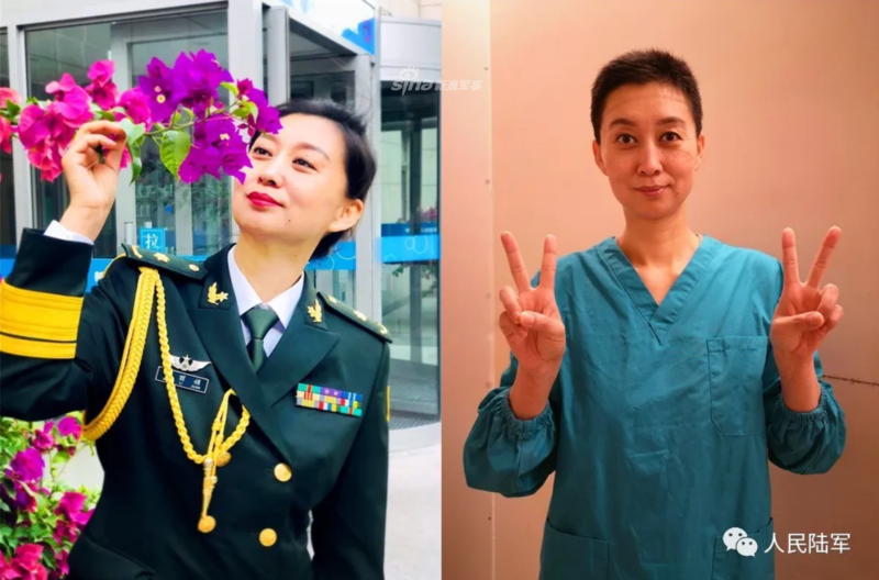 见识不一样的青春!新疆军区援鄂医疗队小姐姐们的风采