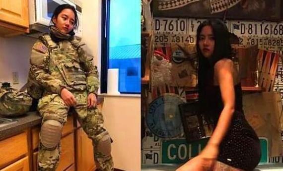 为获美国国籍自愿加入美军的深圳女人,现在怎么样了?